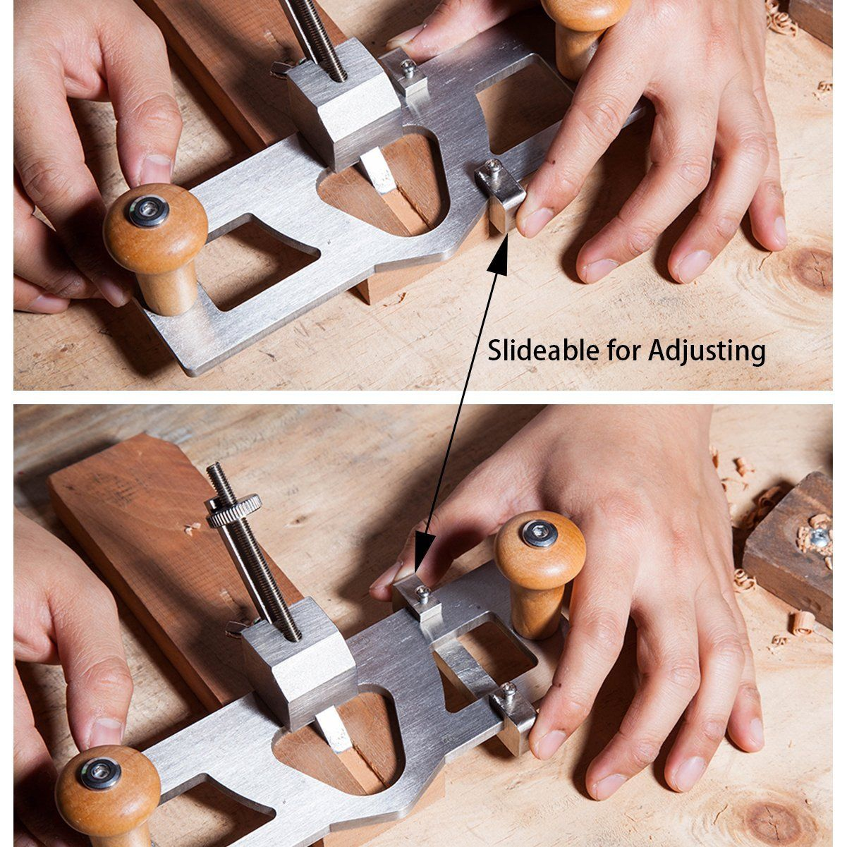 Cowryman Router Plane Handheld Woodworking Tool R022 Plane