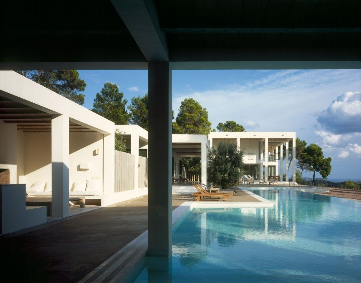 House in Valle de Morna on Ibiza, Spain by Blacam and Meagher Architects