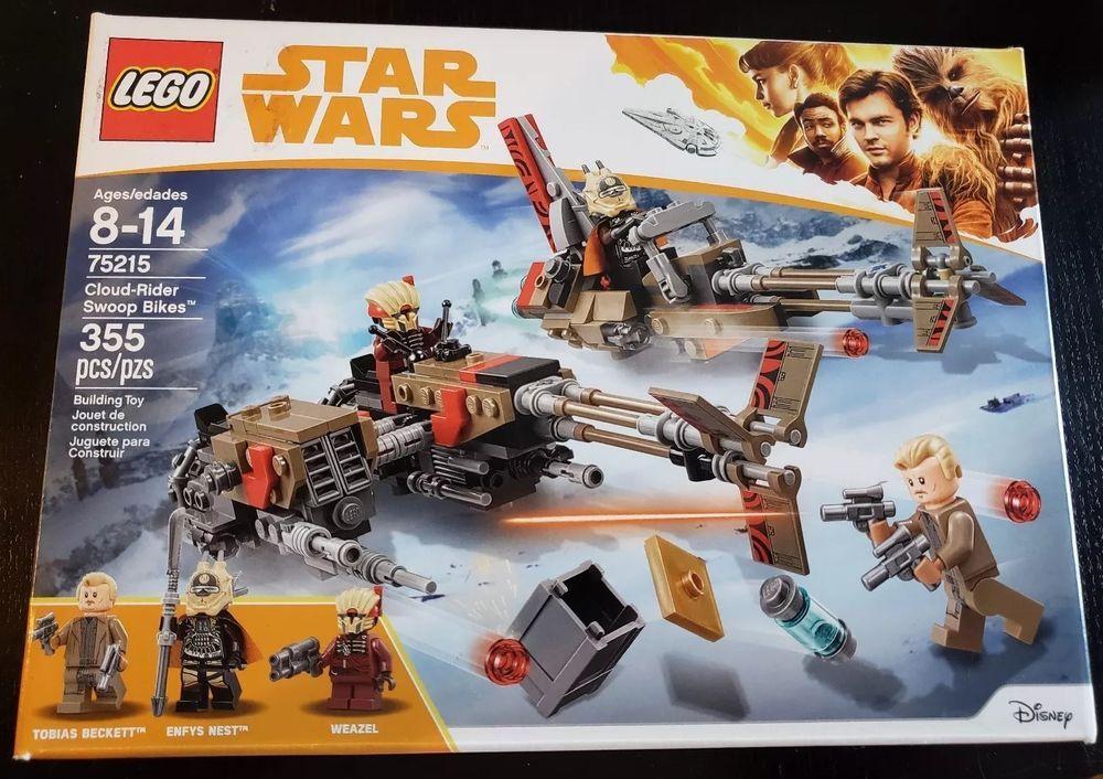 Lego STAR WARS #75215 Cloud-Rider Swoop Bikes Building Toy
