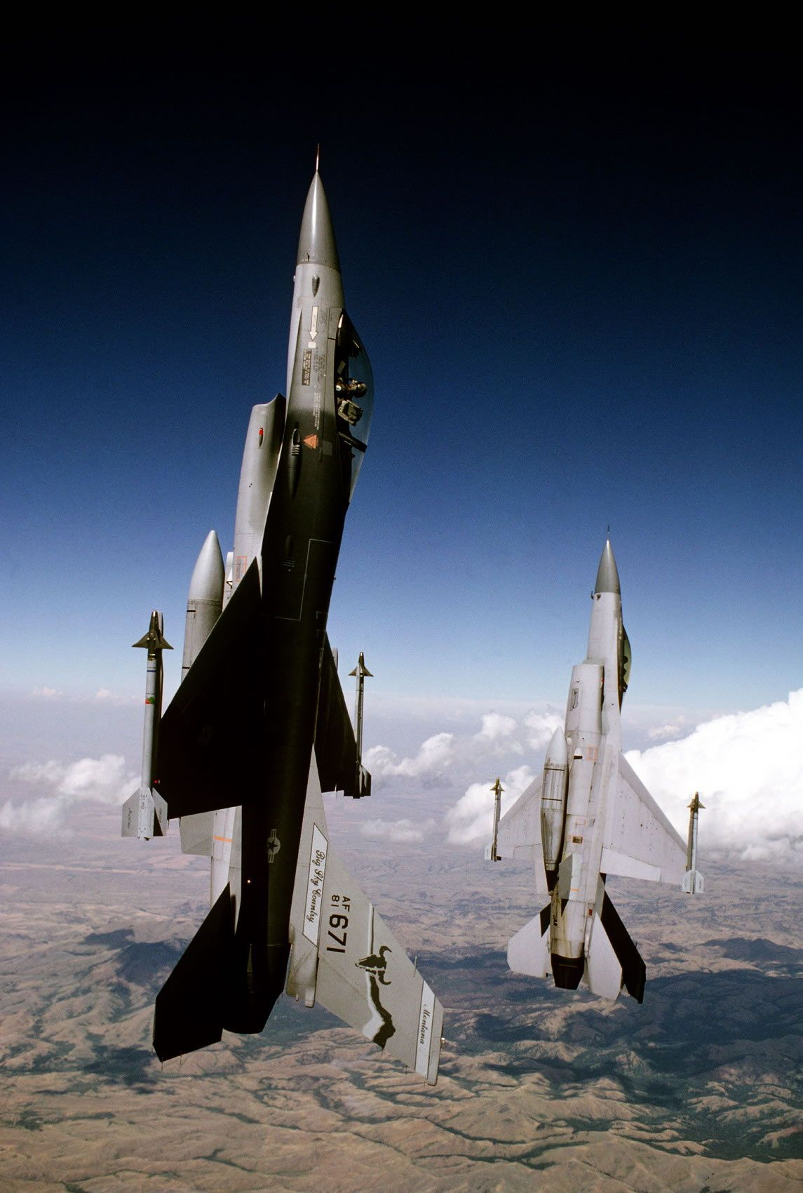 Lockheed Martin (General Dynamics) F16 Fighting Falcon