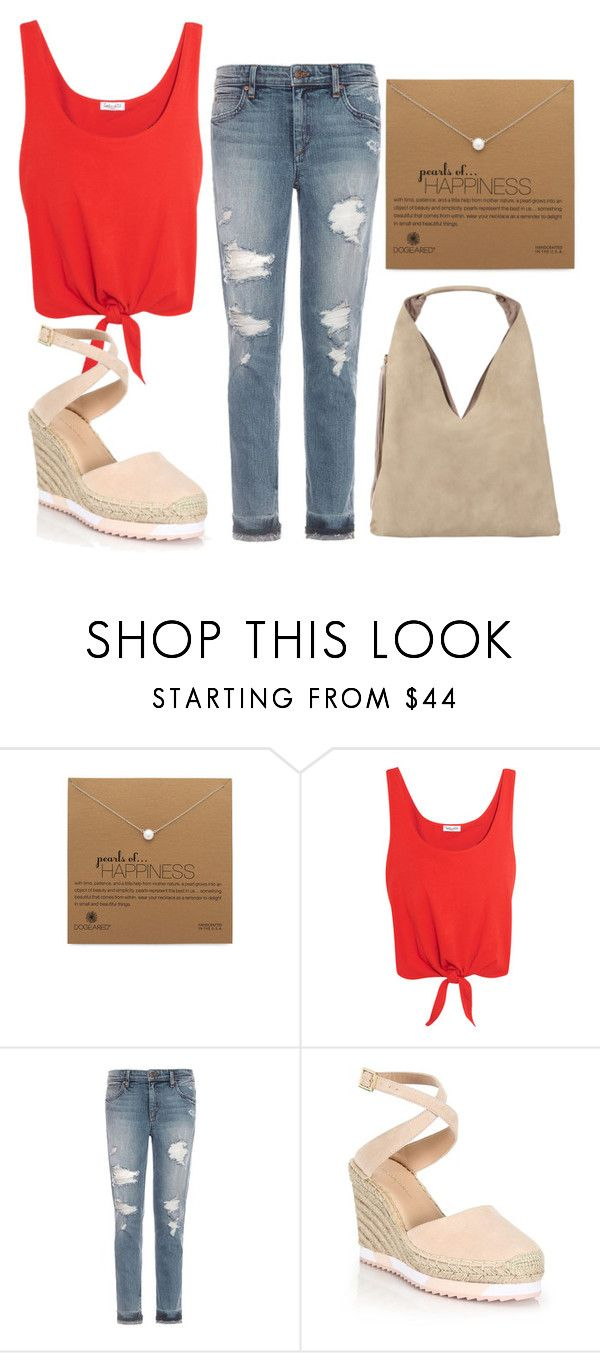 """""""Untitled #1118"""" by sky-colette ❤ liked on Polyvore featuring Dogeared, Splendid, Joe's Jeans, Diane Von Furstenberg and INZI"""