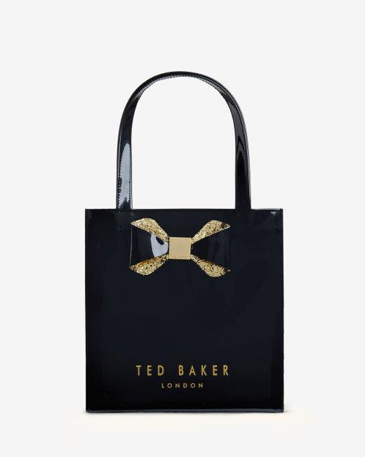 Small Crystal Bow Trim Per Bag Black Bags Ted Baker Uk