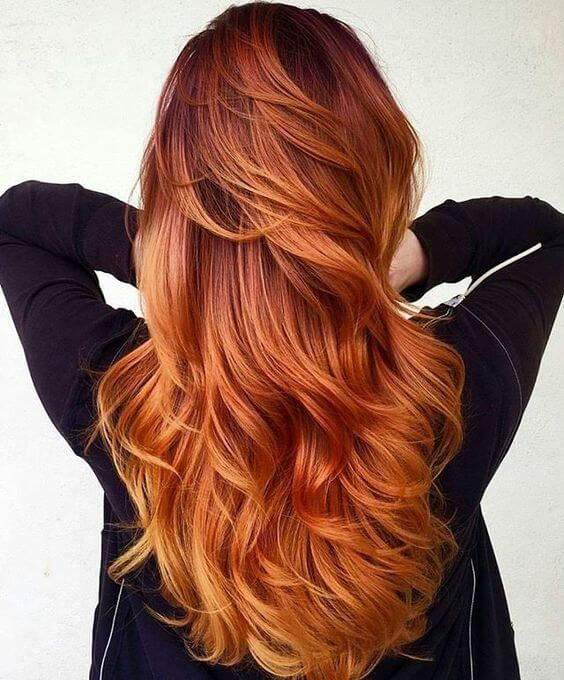 The 27 Hottest Red Ombre Hairstyles | Pinterest | Red ombre, Ombre ...