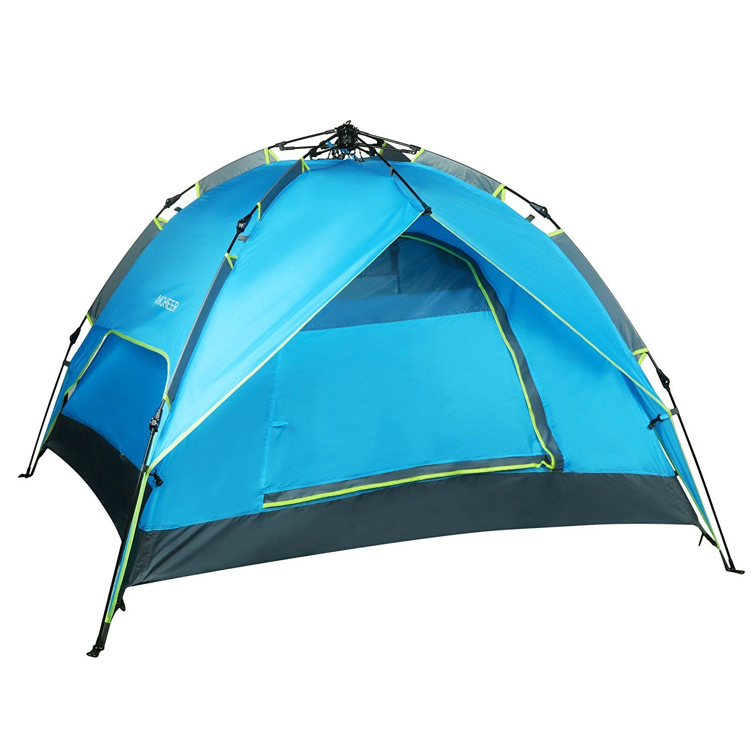 Ancheer C&ing Tent Blue Double Layers 2-3 Person Quick Pop Up Waterproof Hiking Portable  sc 1 st  Pinterest & Ancheer Camping Tent Blue Double Layers 2-3 Person Quick Pop Up ...