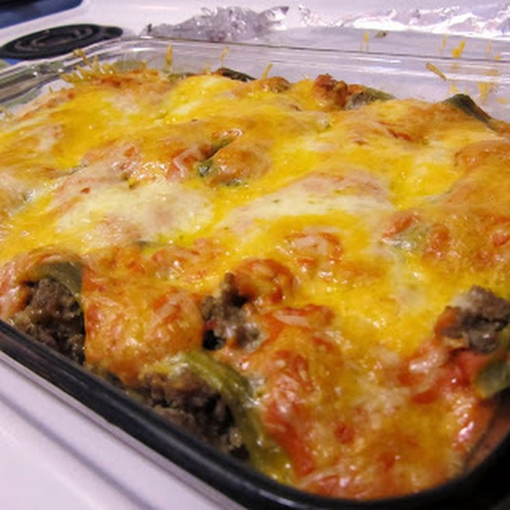 Stuffed Chili Relleno Casserole Recipe Main Dishes With Turkey Chicken Ground Beef Pepper