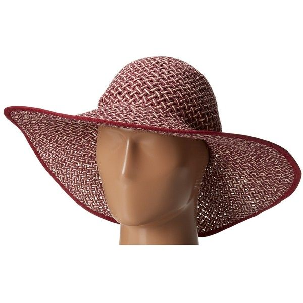 San Diego Hat Company PBL3024 Open Weave Two Color Floppy