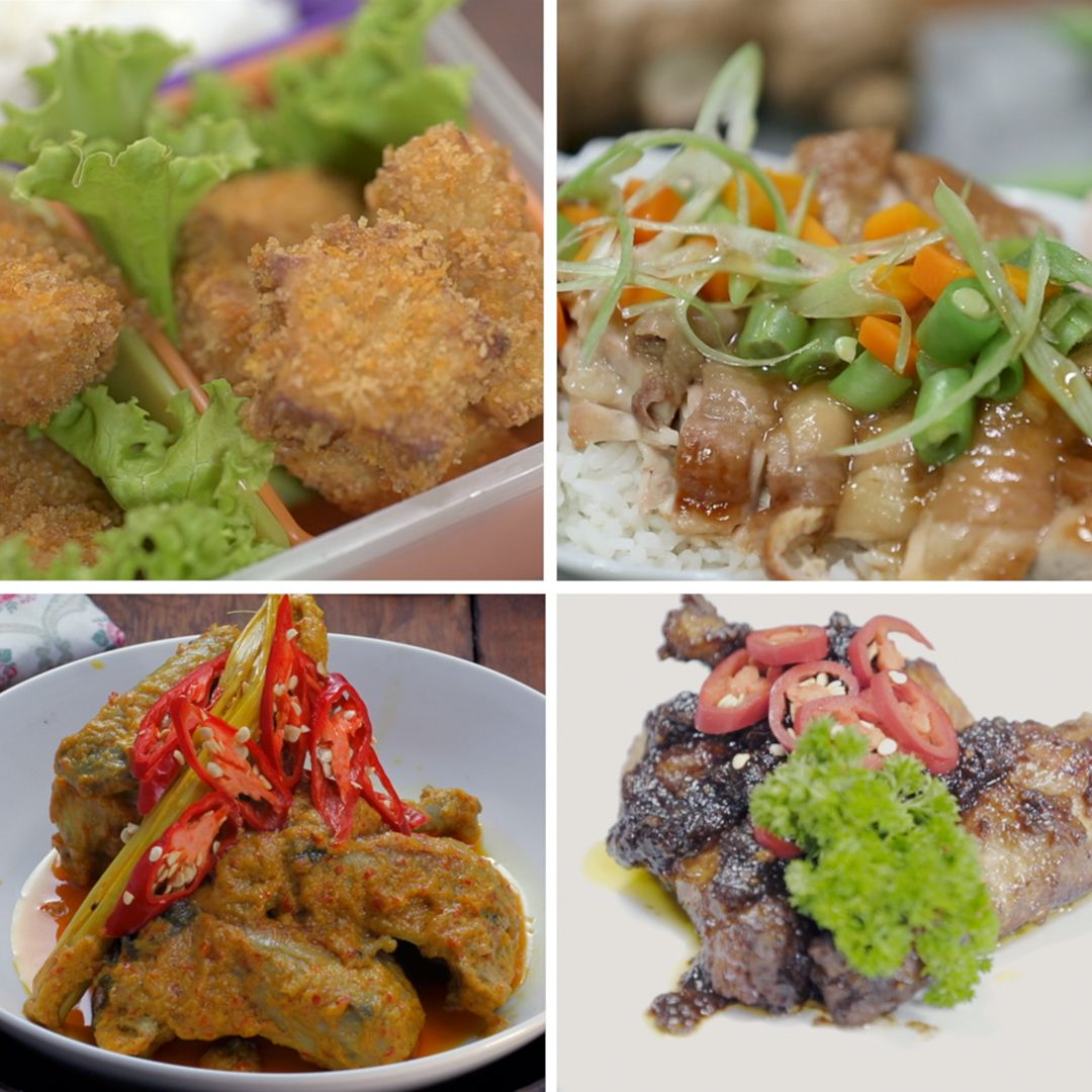 4 Olahan Ayam Resep Masakan Resep Makanan Resep Ayam