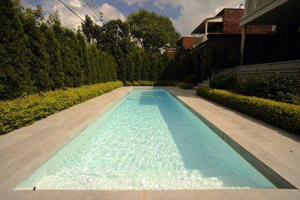 piscine rectangulaire longue étroite - Google Search