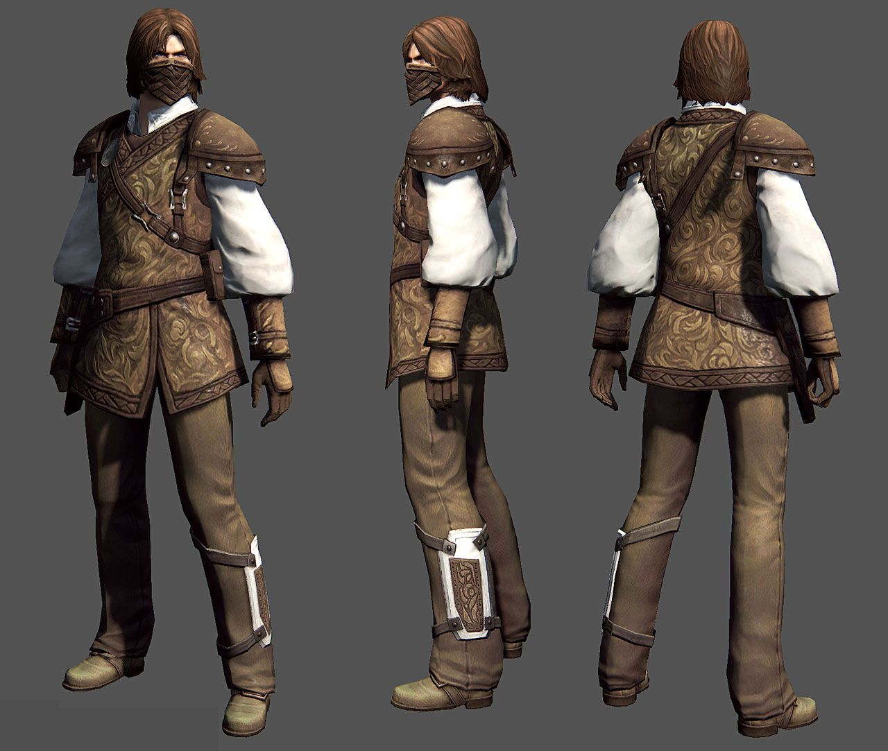 Guild Wars 2: Marksman Male by ~YeeWu | Light Style: Men