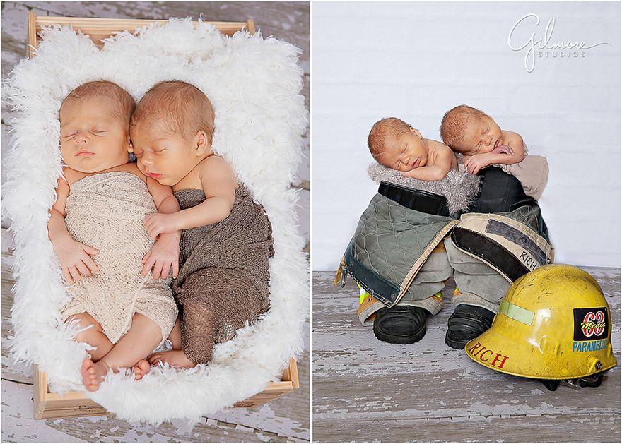 0bb671e18 Newborn Twins- Studio Portrait Session-Newport Beach