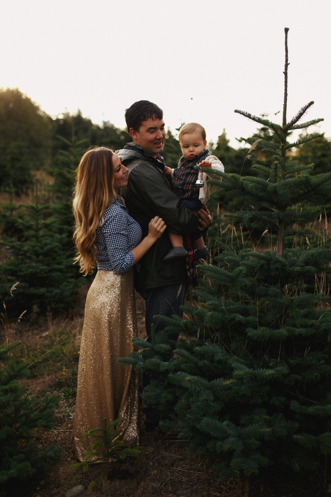 A December To Remember Bainbridge Boheme Family Holiday Photos Christmas Family Photos Christmas Tree Farm Photo Shoot