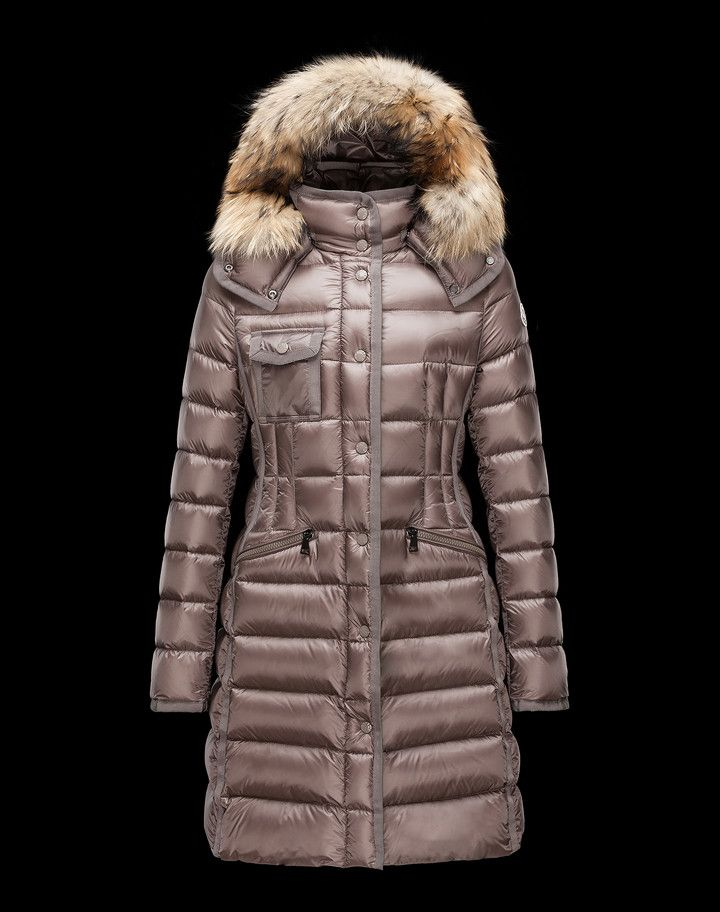 5197e100cbc6 MONCLER HERMIFUR - Long outerwear - women