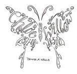Chloe Butterfly Tattoo With Children S Names Tattoos With Kids Names Tattoos For Kids Name Tattoo Designs