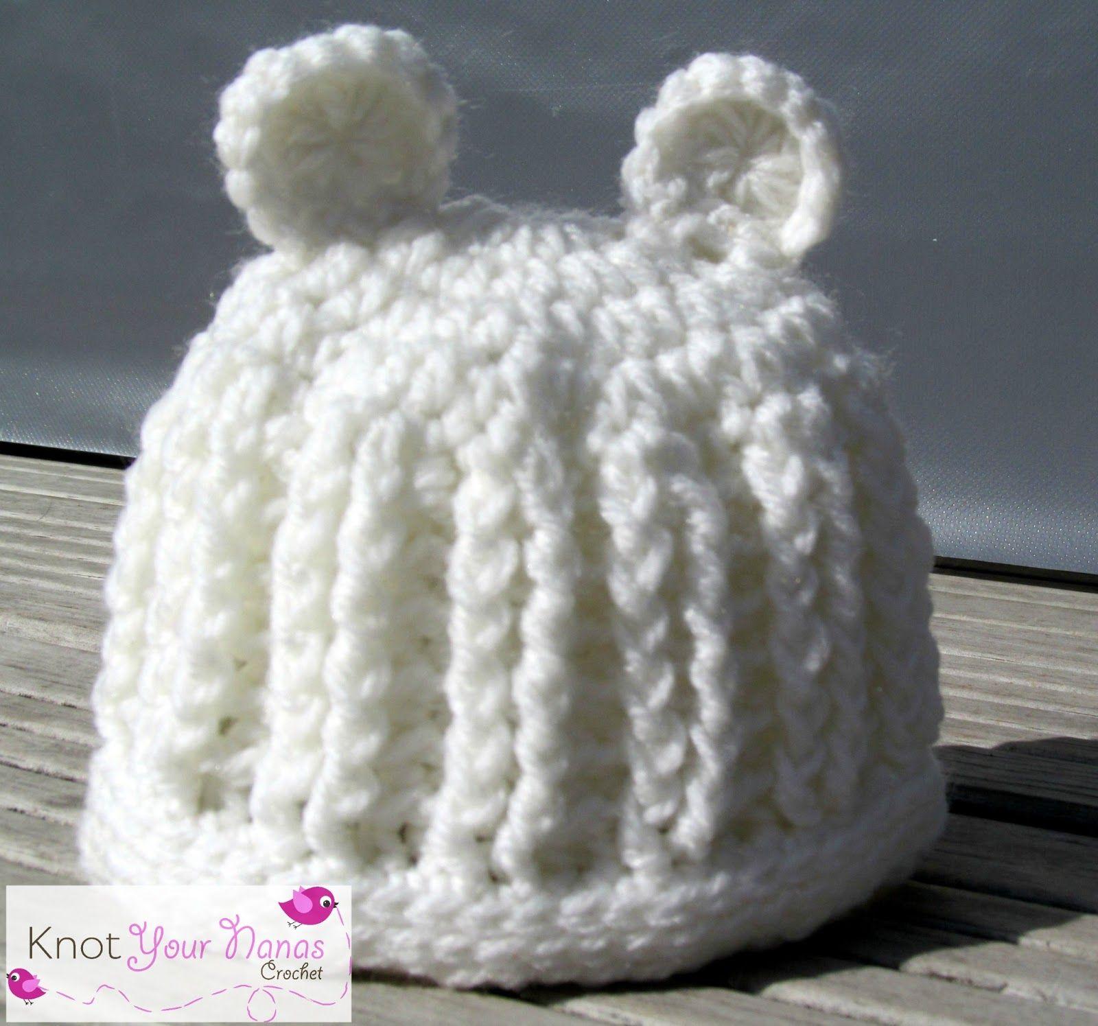 crochet sombrero acanalado con orejas | gorros | Pinterest | Tejido ...