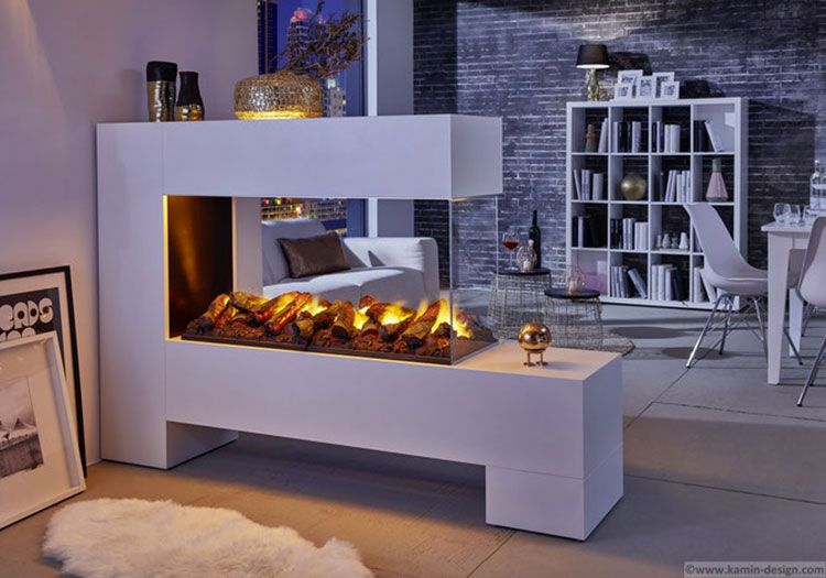 30 Modelli di Camini Moderni Senza Canna Fumaria | Arredo soggiorno ...