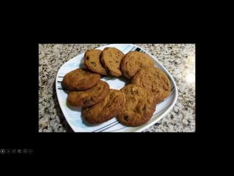Measure It Servings Chocolate Chip Oat Fiber Cookies Youtube