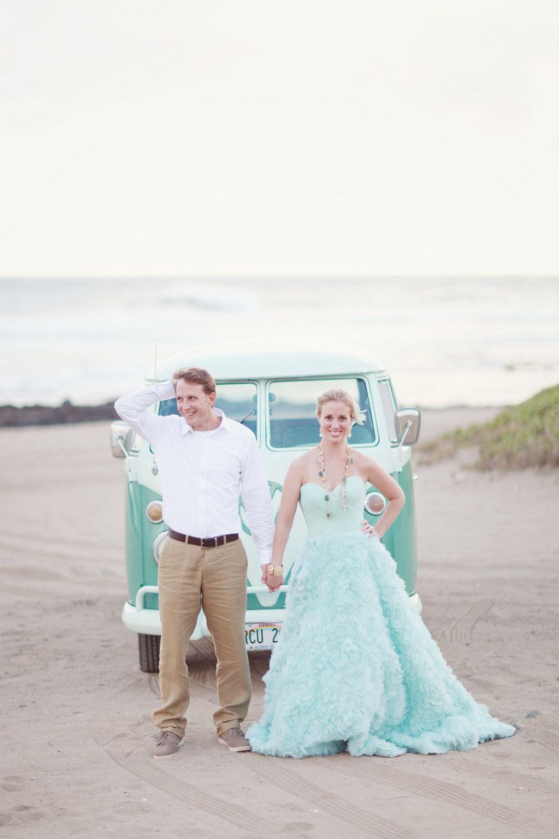 Oahu beach inspiration photo shoot by la fleur weddings simply