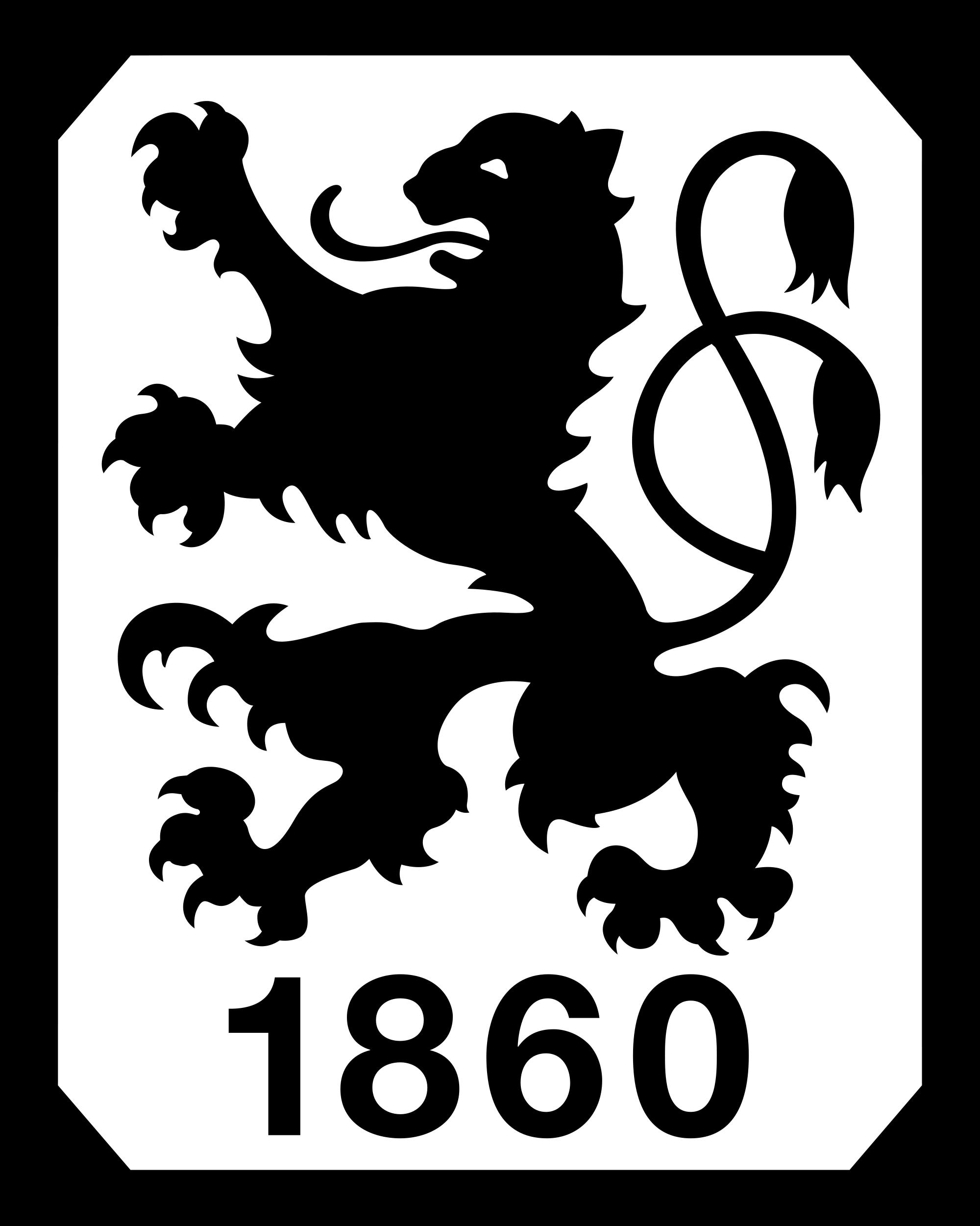 TSV_1860_München Bundesliga logo, Soccer logo, Football