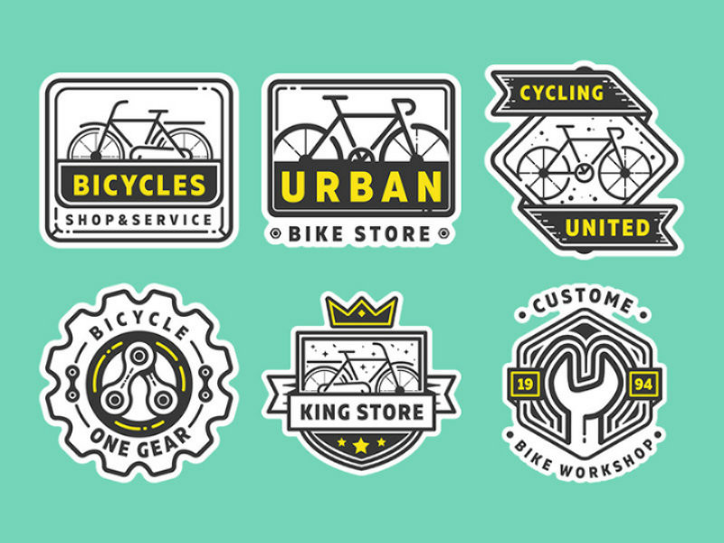 Free Bike Shop Logo Part 2 Shop Logo Bike Logos