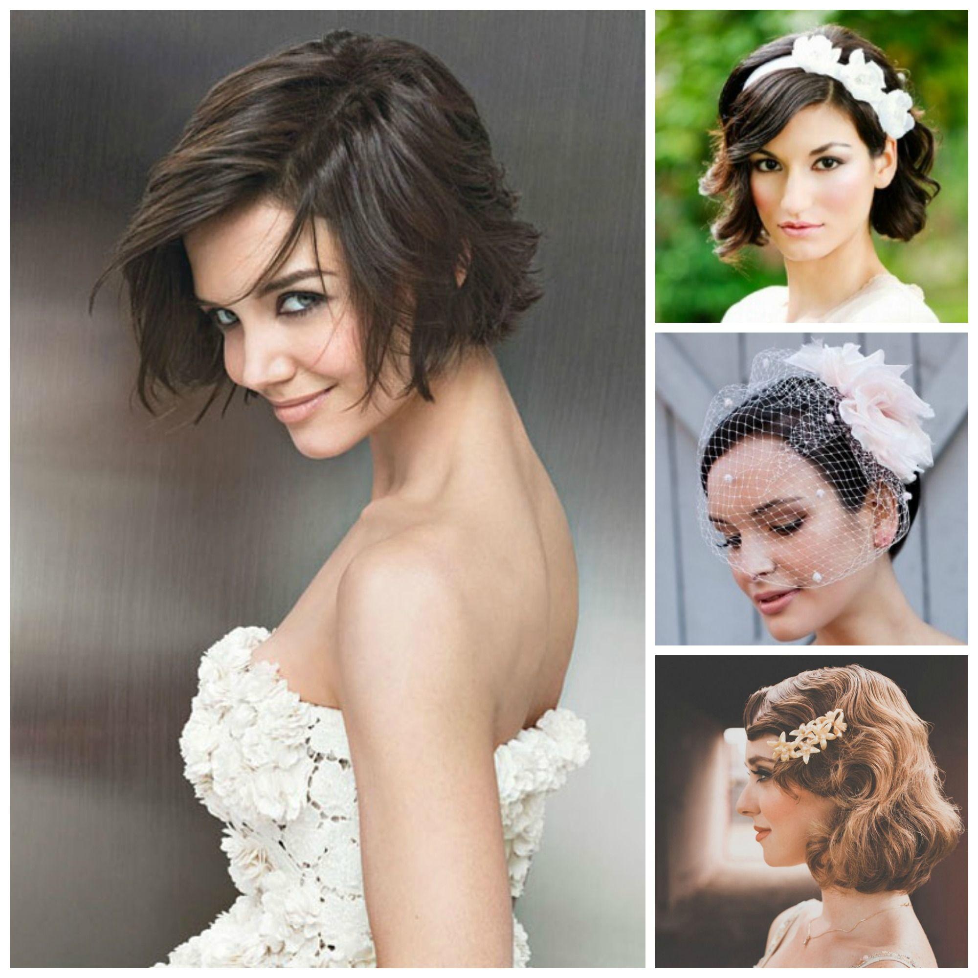 katie holmes bob hairstyle | hair | short wedding hair