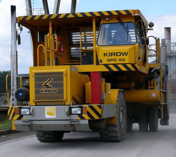 KIROW - slag pot carrier