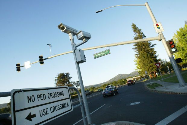 Napa, CA City Council Rejects Renewal Of Red Light Camera Program. Program  Ends At End Of February When Current Contract Runs Out.