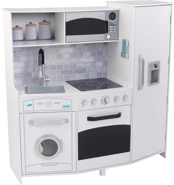 Kid Kraft Large Play Kitchen in 2019 | Play kitchen sets ...
