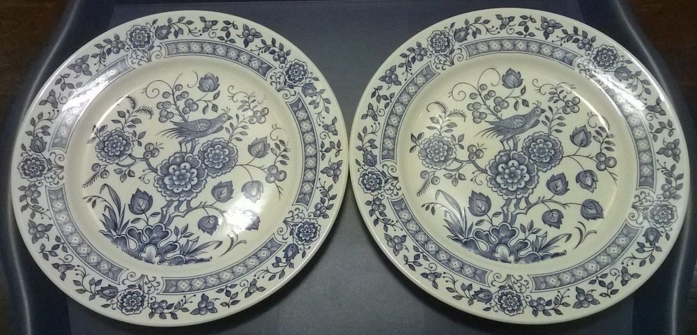 Melody Brown Staffordshire Pottery Fruit Bowls X 2 A Great Variety Of Models Pottery Frugal Alfred Meakin