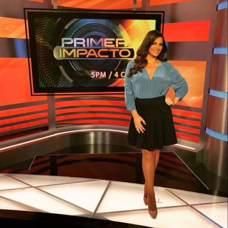 Barbara Bermudo on Primer Impacto