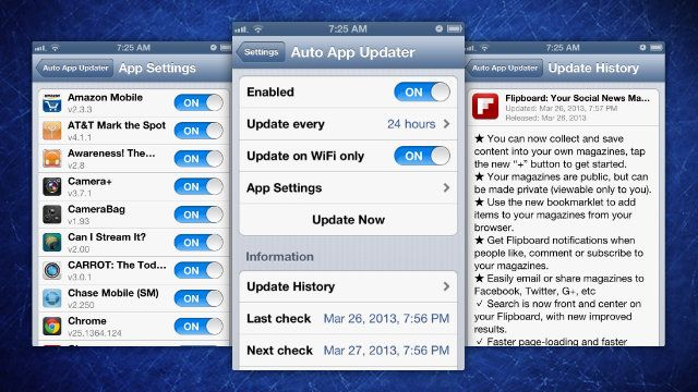 Auto App Updater Automates Your App Store Updates ~ The Geekr