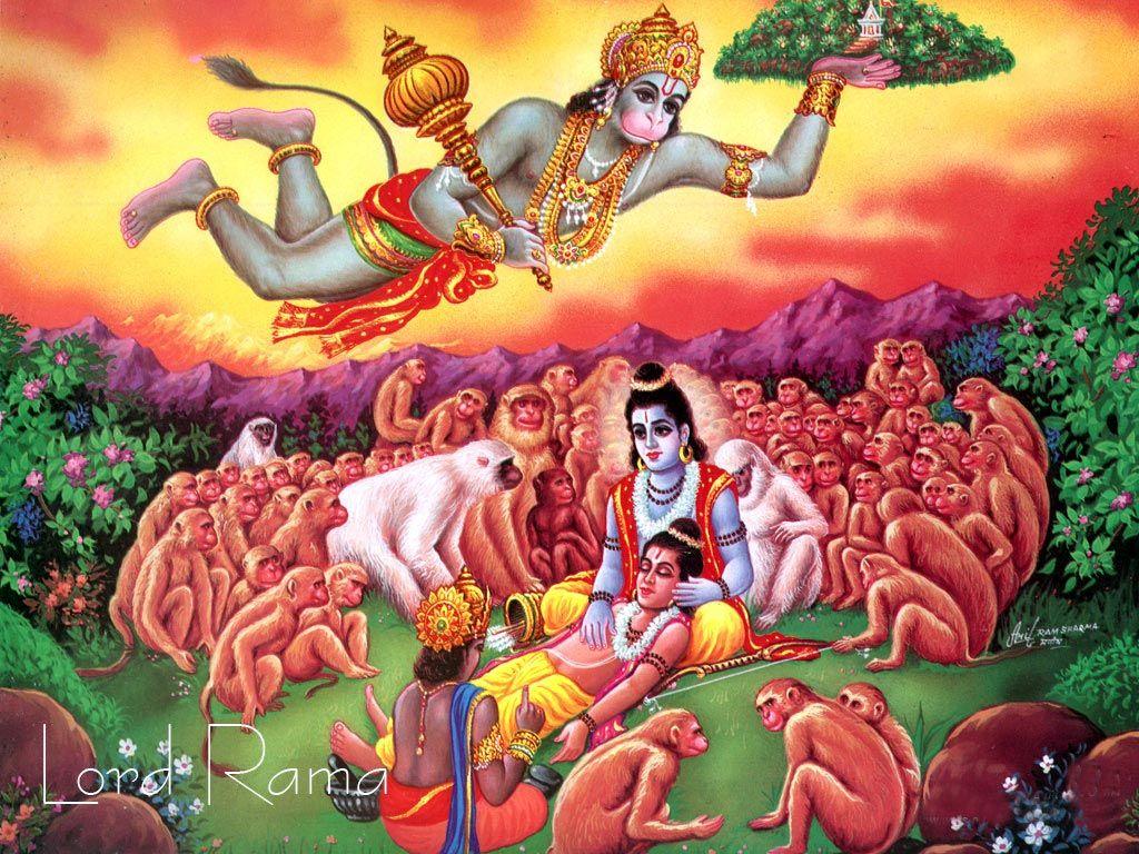 Hd wallpaper jai shri ram - Shri Ram And Hanuman Wallpaper Free Download