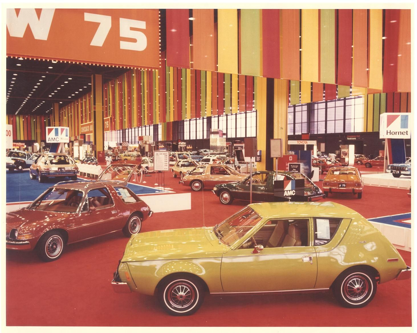 1975 Chicago Auto Show American Motors AMC. I love AMC's