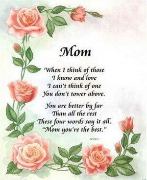Mothers Quotespoems About Mothersmoms Poemssayingsquotemother
