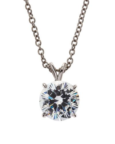 Fantasia Round-Cut CZ Necklace PdVTXniBtY