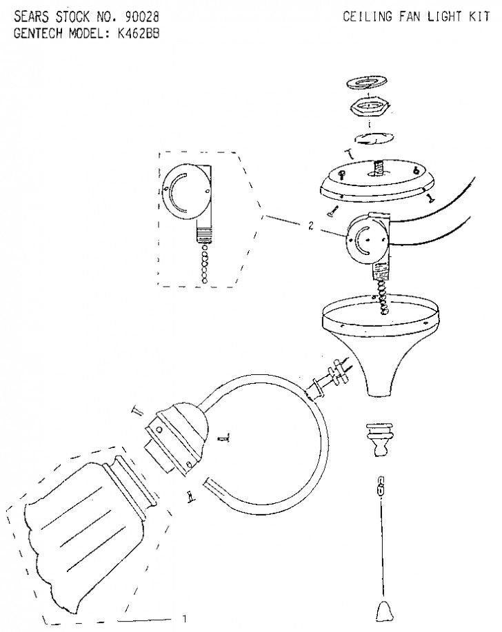 Ceiling Lamp Parts Diagram Swasstech