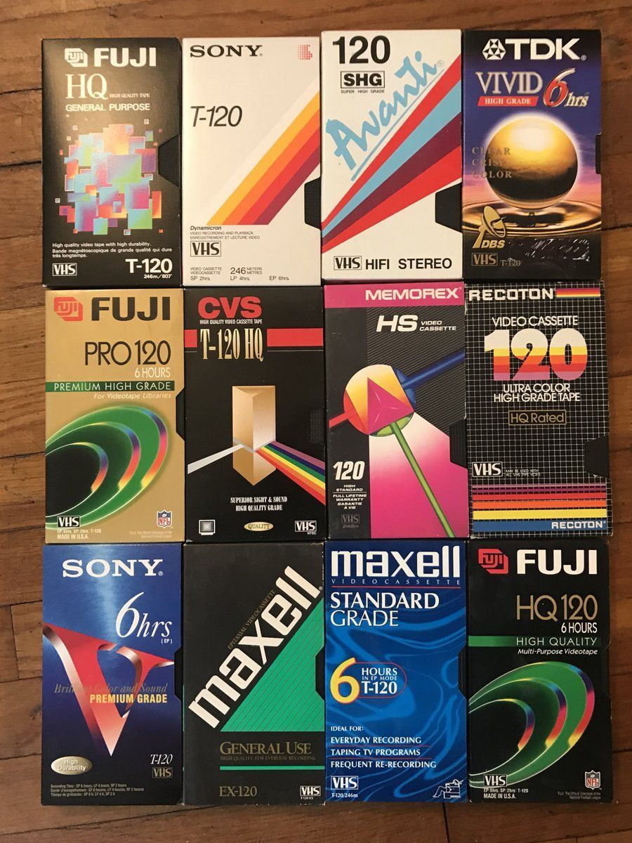 Blank Vhs Cassette Packaging Design Trends A Lost Art Flashbak Packaging Design Trends Vhs Cassette 90s Design