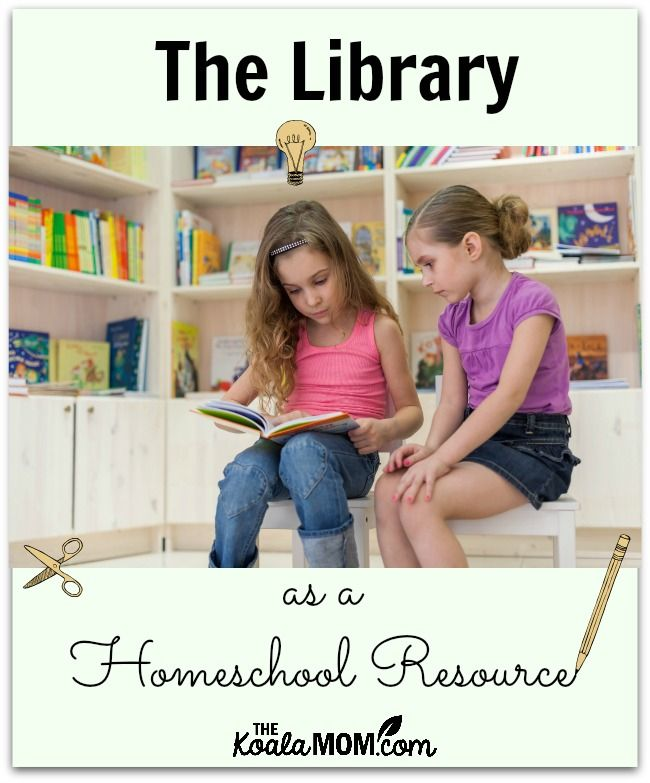 The library has become a huge homeschool resource for me; here's how I am using it for science, history and reading with my Grade 1 and 2 daughters.