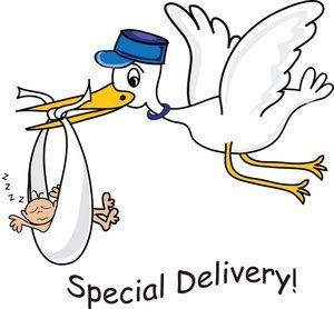 deliver a baby bucketlist and travel pinterest clipart images rh pinterest com baby girl stork clipart Baby Blocks Border