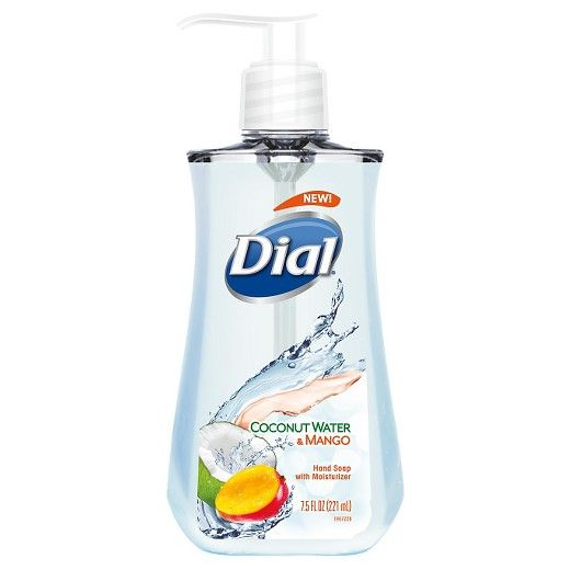 Dial Coconut Water Mango Hand Soap 7 5oz Liquid Hand Soap