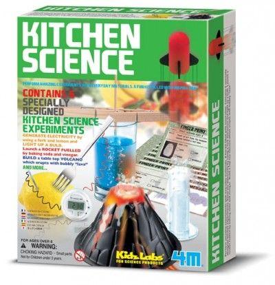 KITCHEN SCIENCE - Esperimenti con gli oggetti della cucina - 4M ...