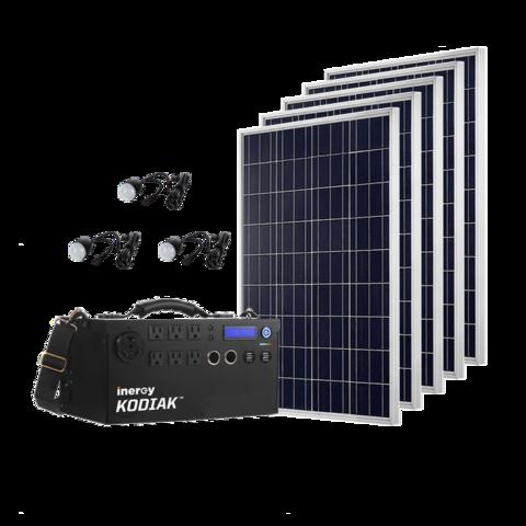 1500 Watt Solar Generator W Rigid Panels 1 1kwh Lithium Ion Technology Solar Generator Best Solar Panels Solar Panels