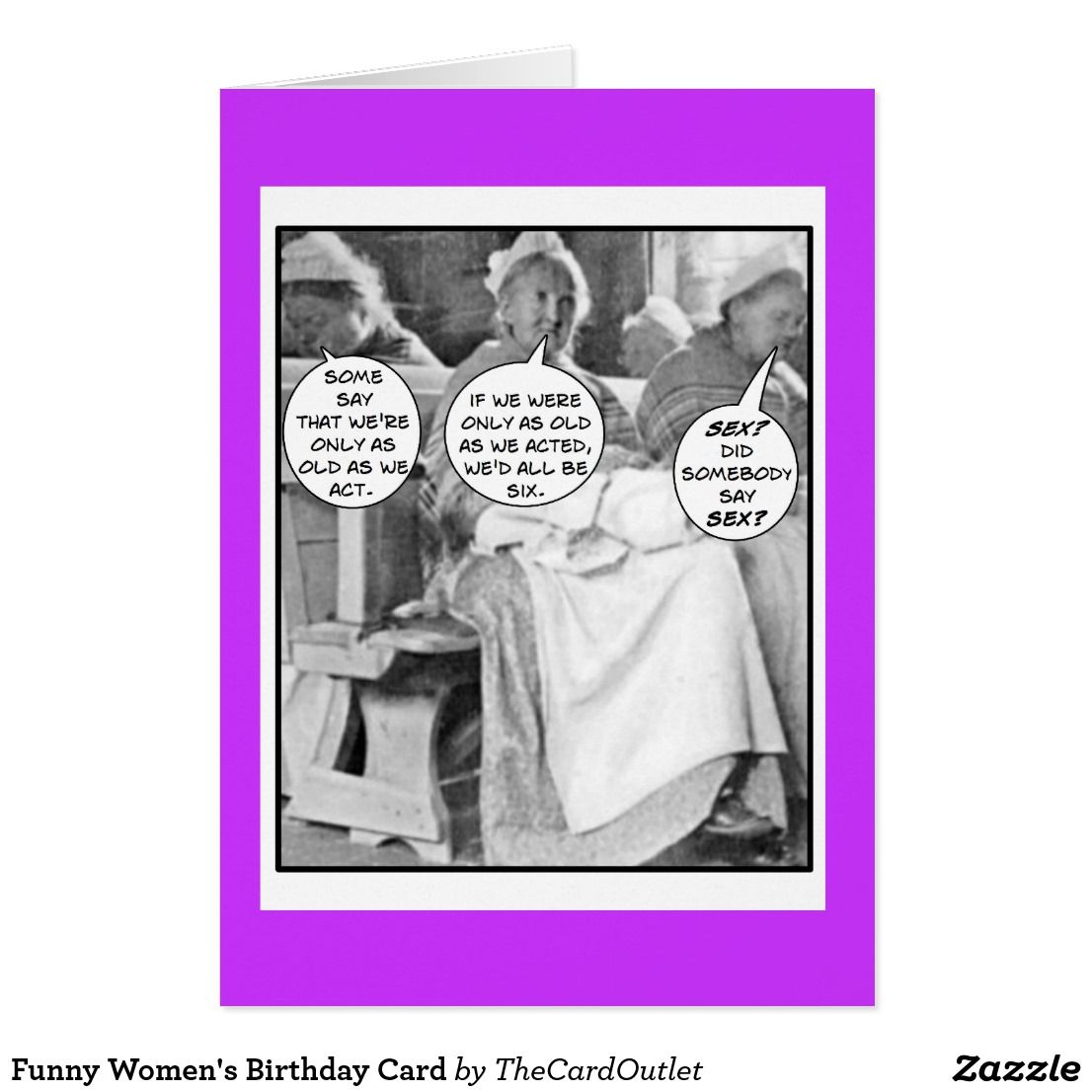 Funny Women S Birthday Card Birthdays