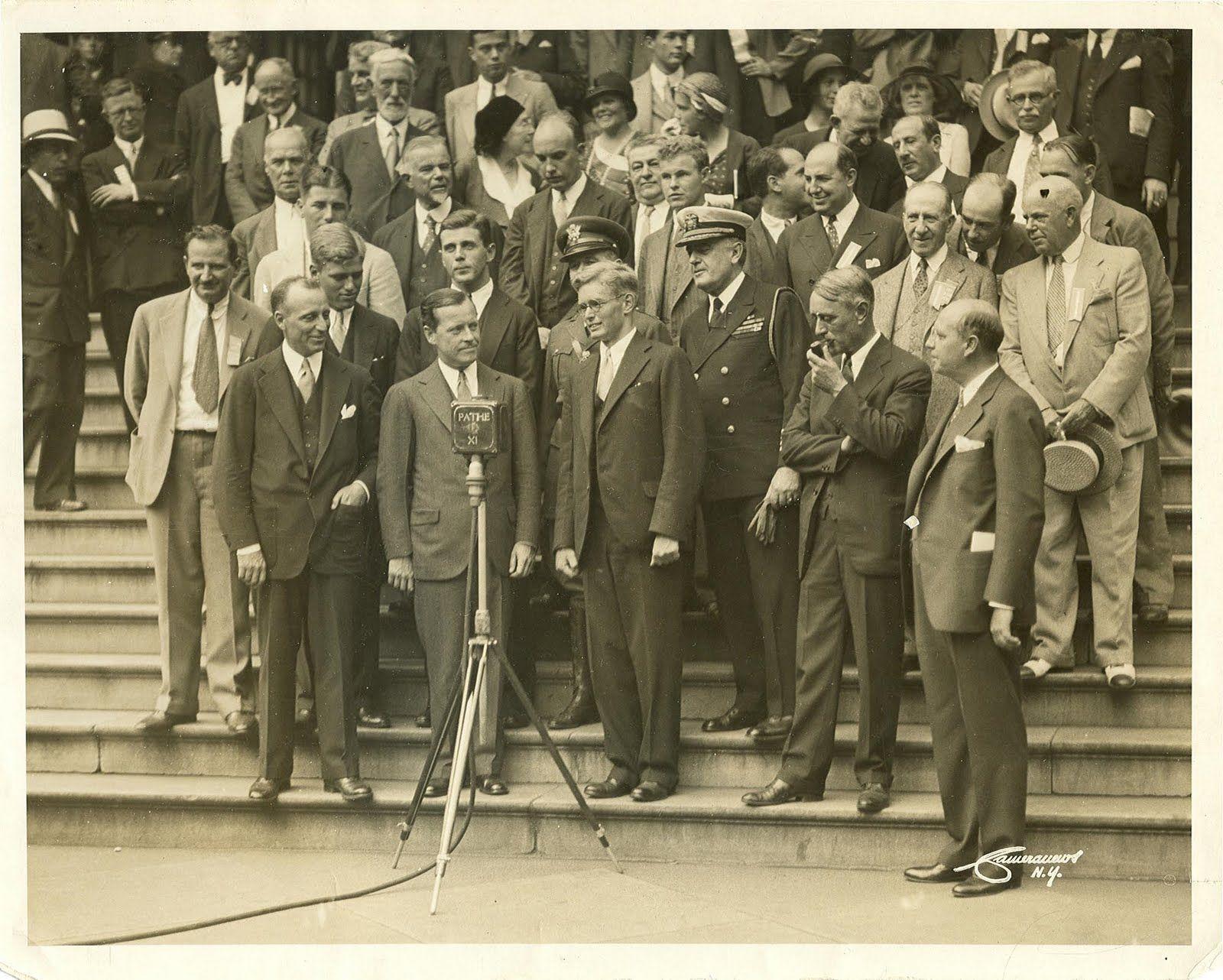 Olin Stephens, honored.  1930s