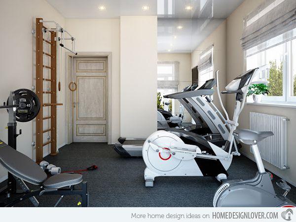 15 Cool Home Gym Ideas Home Gym Ideas Pinterest At Home Gym
