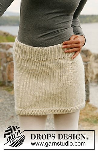 Knit skirt, bulky yarn, free Ravelry pattern   Knit skirt ...
