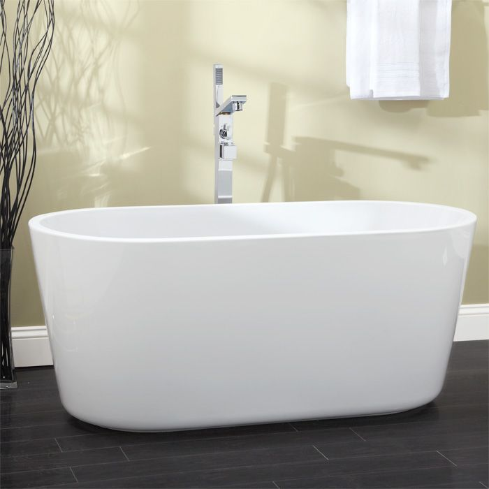 Will Fit In Door But Resin 55 Imler Freestanding Acrylic Tub