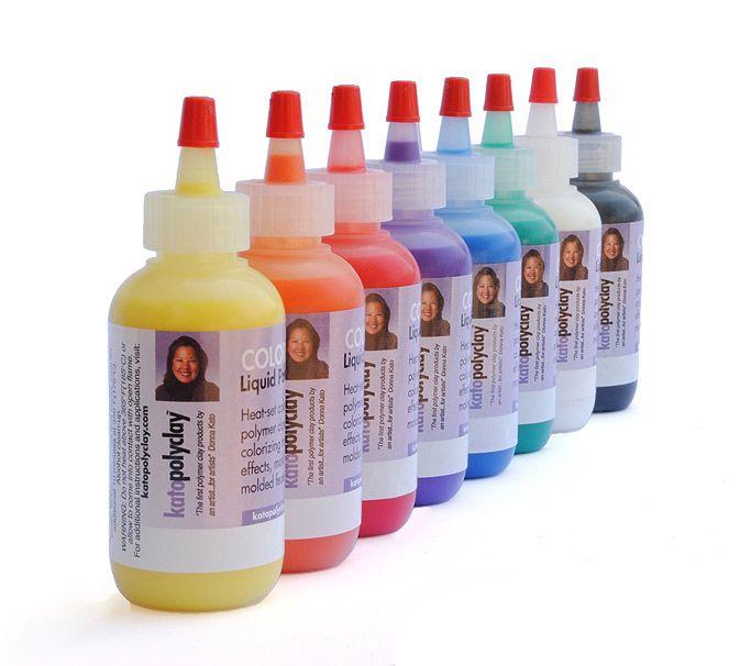 Kato Colored Liquid Polyclay Maybe At Hobby Lobby Polymer Clay