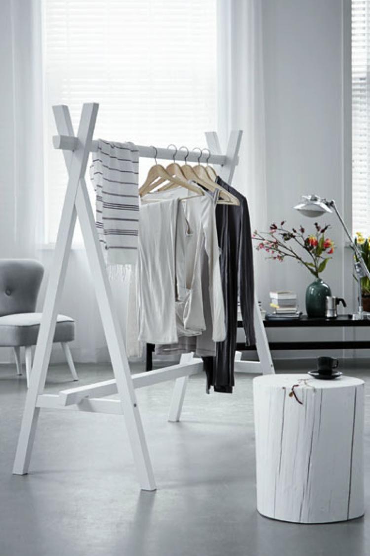 9x de mooiste kledingrekken voor in huis inspiration pinterest penderie maison et deco. Black Bedroom Furniture Sets. Home Design Ideas