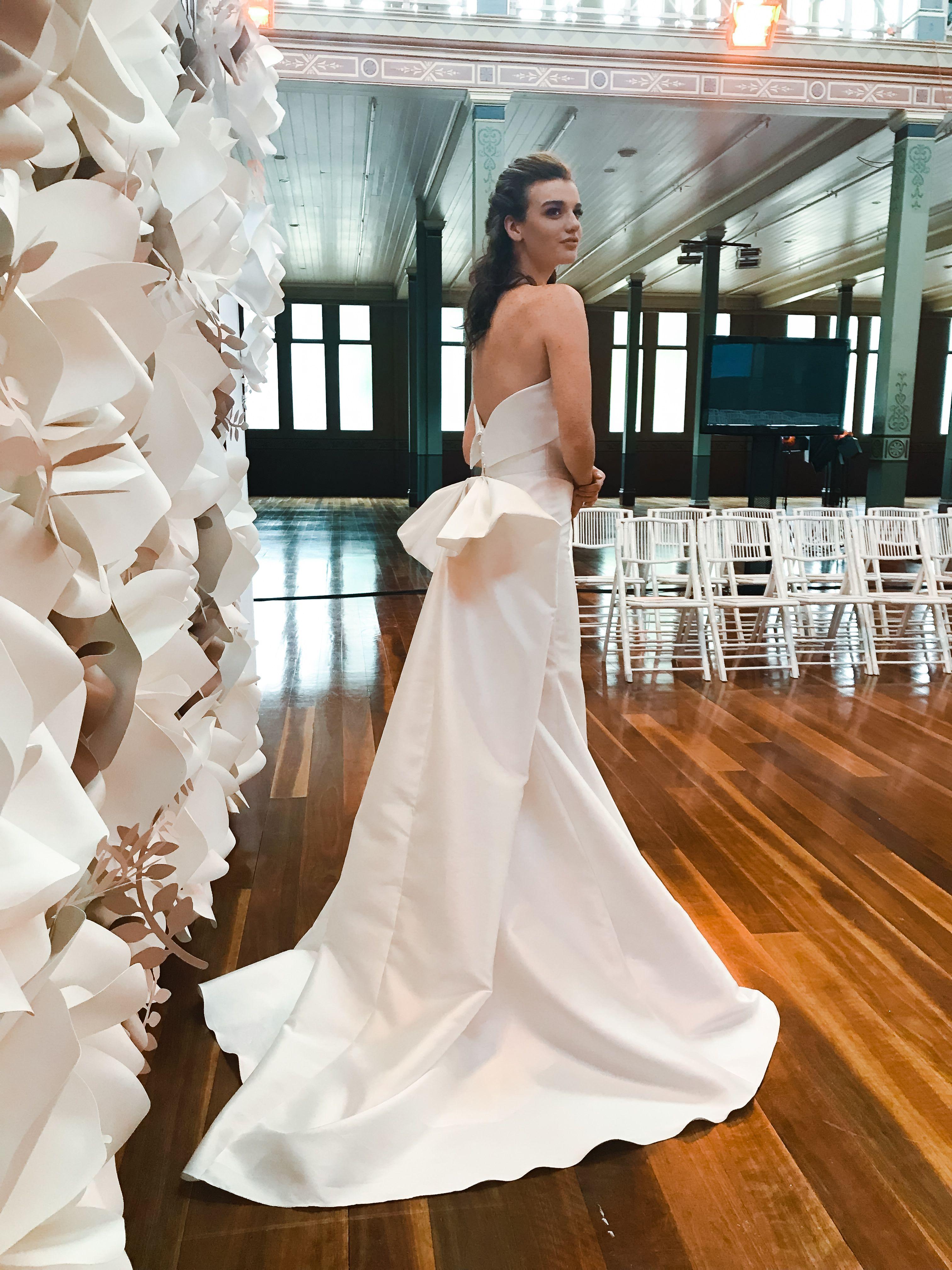 Our brand new 'Akira' Gown  #wedding #shehzarinbathacouture