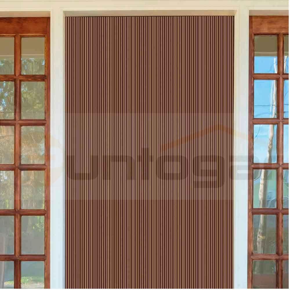 cortina exterior idea pvc para puertas antimoscas con variada gama de colores y a medida cortina